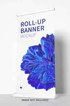 Постоянный roll-up баннер мокап