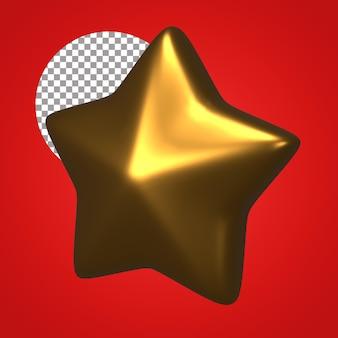 Звезда 3d визуализации