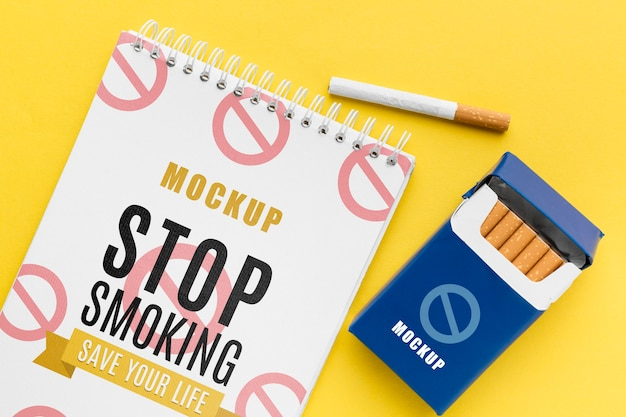 Stop smocking concept mock-up