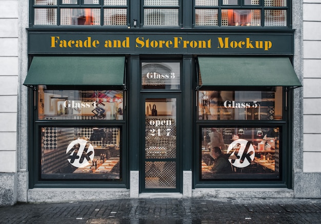 Фасад и storefront