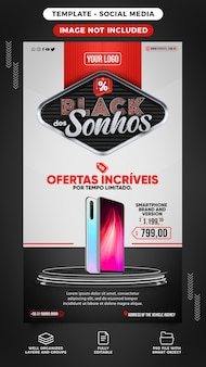 Stories black friday of dreams smartphone on offer in brazil
