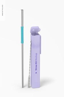 Мокап straw kit