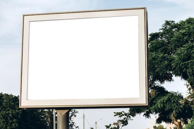 Уличные рекламные щиты, макет, создатель сцены