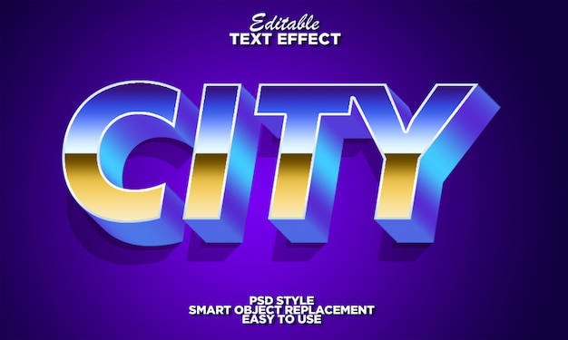 Strong bold 3d font effect with gradient extrude
