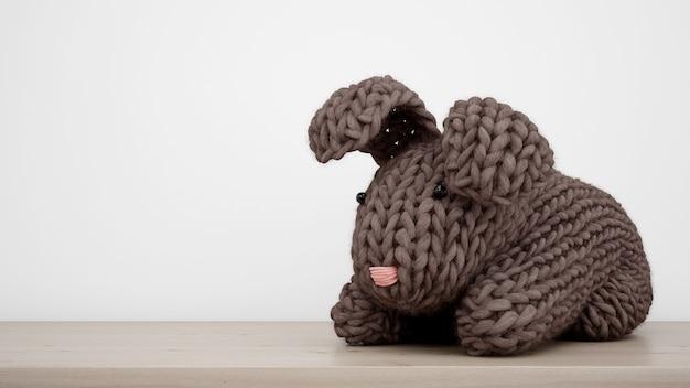 Фаршированный кролик крупным планом