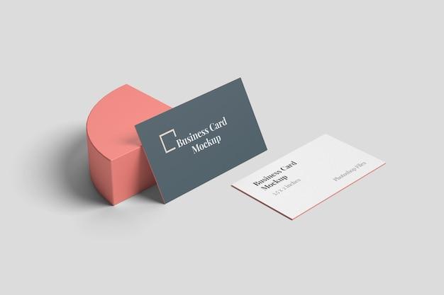 Стильный макет визитки