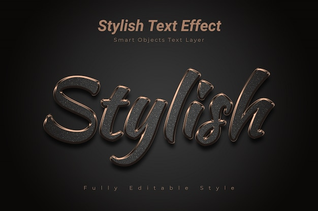 Stylish text effect