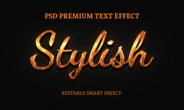 Stylish text effectportrait of beautiful woman