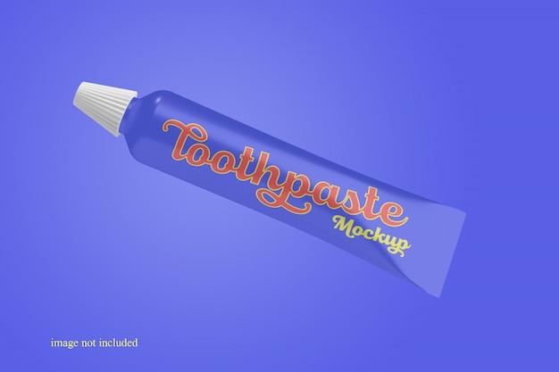 Стильный мокап с зубной пастой