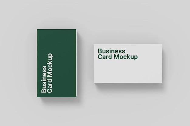 Stylist business card mockup