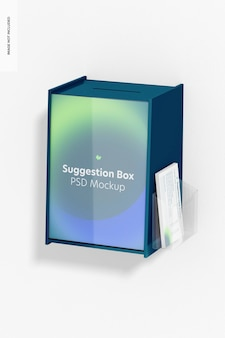 벽 모형의 제안 상자