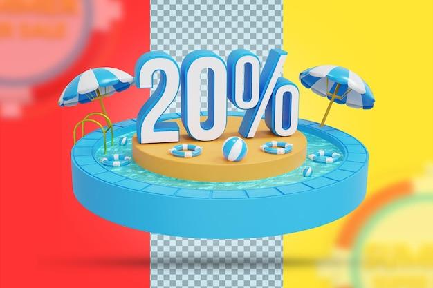 Летняя скидка 20% на 3d-рендеринг