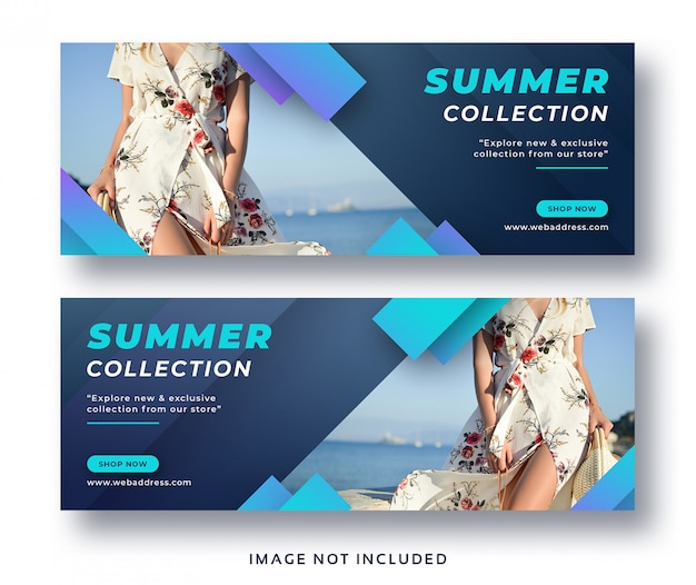 Summer fashion sale facebook cover