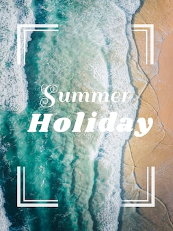 Summer holiday card