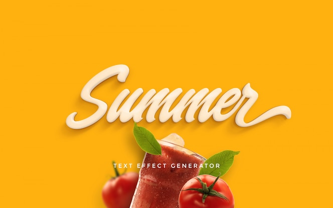 Summer Text Effect Generator