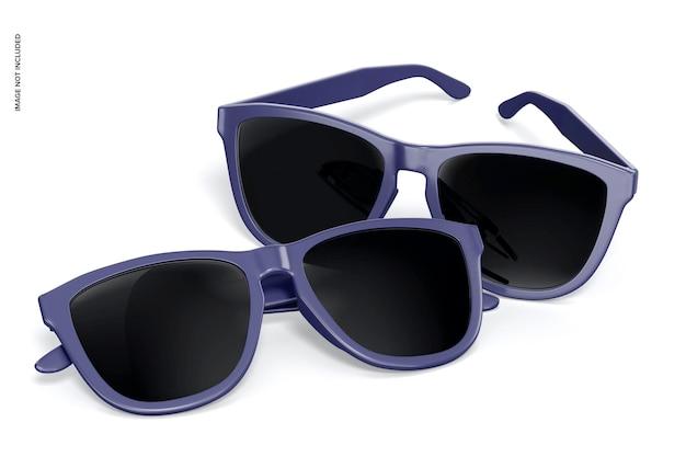 선글라스 모형, 원근법