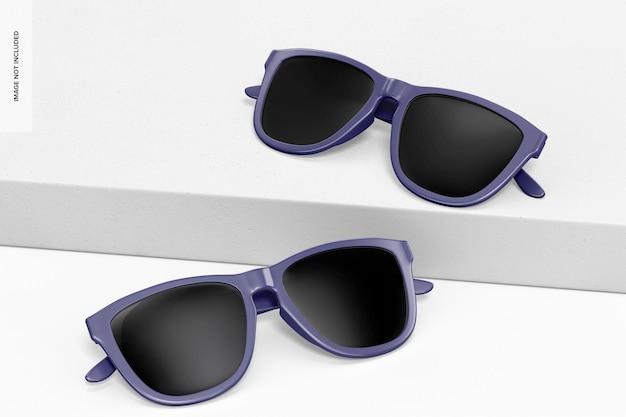 선글라스 모형