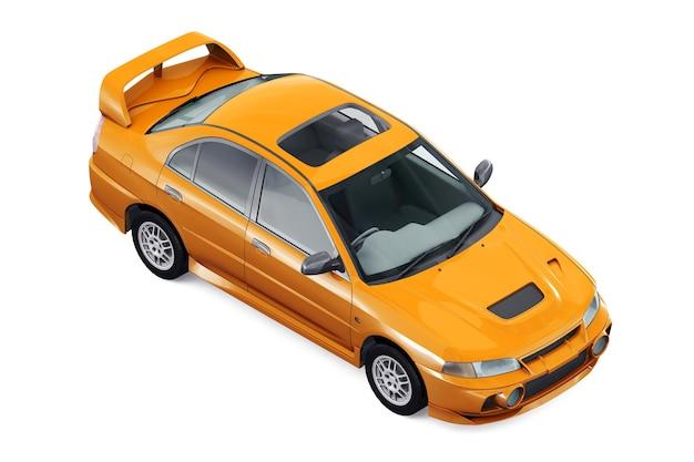 Mockup di super car del 1997