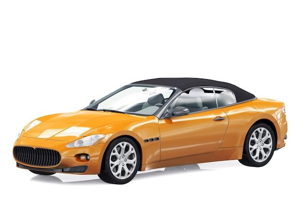 Super car 2011 mockup