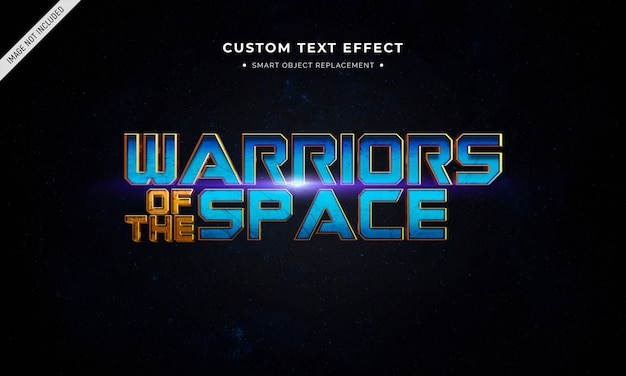 Superhero movie 3d text style effect