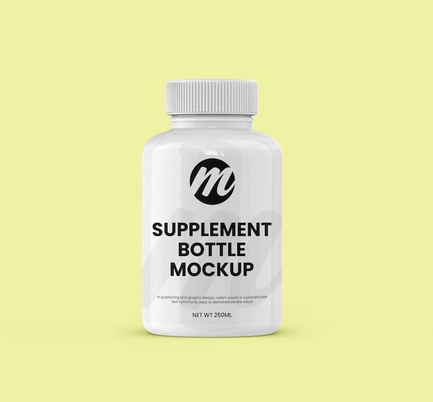 Бутылочка с добавкой или лекарством и макет