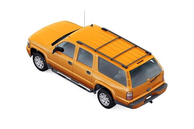 Suv4x4車2005モックアップ