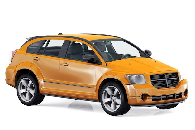 Suv4x4車2010モックアップ