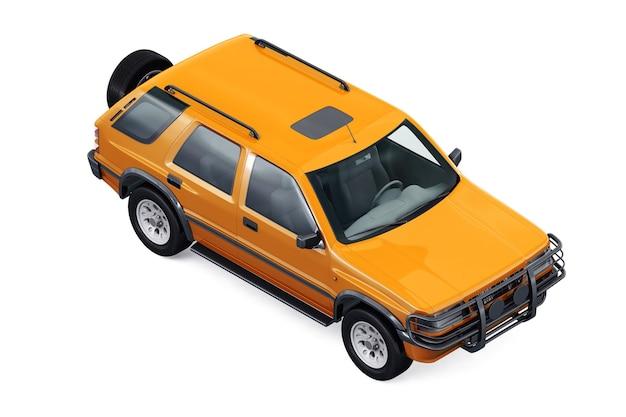 Suv 4x4 car mockup