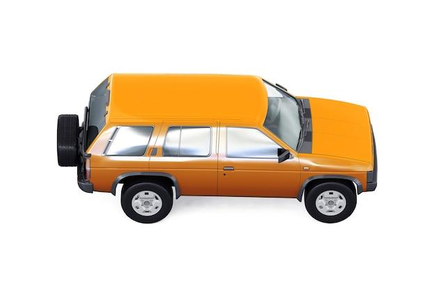 Suv4x4車のモックアップ