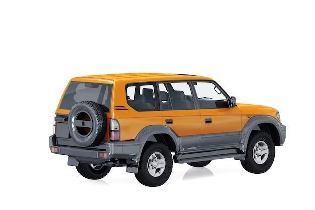 Макет автомобиля внедорожник 4x4