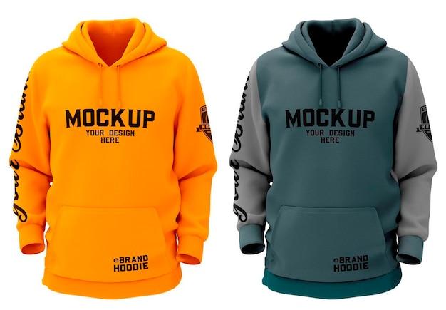 Sweatshirt hoodie mockup design