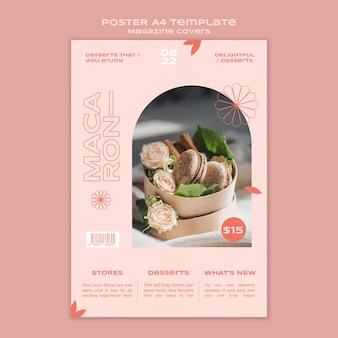 Sweets and treats print template