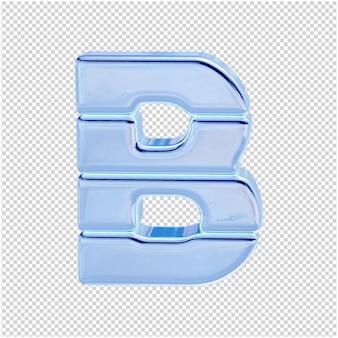 Символ из ледяной коллекции. 3-я буква b