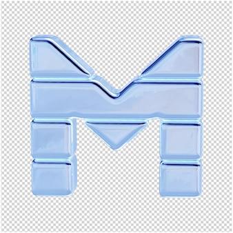 Символ из ледяной коллекции. 3-я буква м