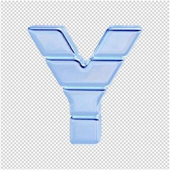 Символ из ледяной коллекции. 3-я буква y