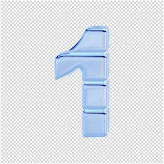 Символ из ледяной коллекции. 3d номер 1