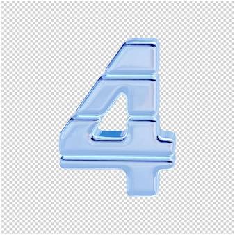 Символ из ледяной коллекции. 3д номер 4