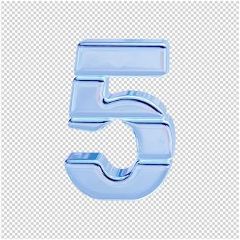Символ из ледяной коллекции. 3д номер 5