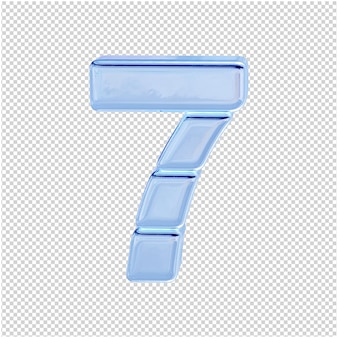 Символ из ледяной коллекции. 3д номер 7