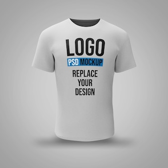 T-shirt 3d rendering mockup design