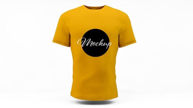 티셔츠 모의 절연