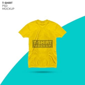 T-shirt mockup design isolated