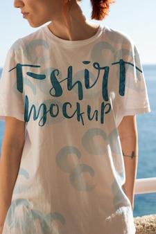 Tシャツモックアップデザイン
