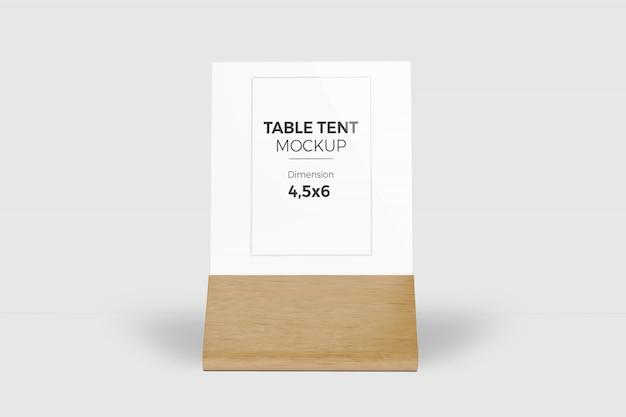테이블 텐트 모형 3