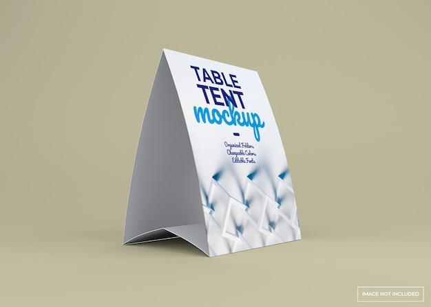 테이블 텐트 스탠드 모형