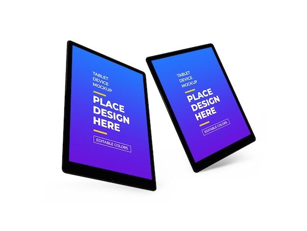 3d-макет планшетного устройства