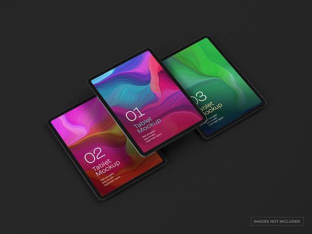 Tablet device mockup
