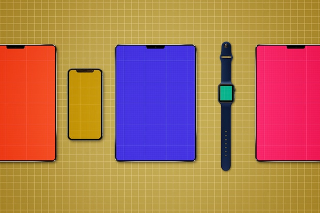 Tablet & mobile mockup