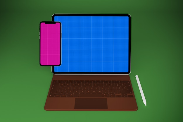 Tablet and mobile mockup