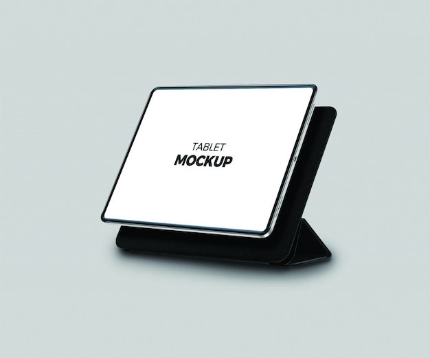 The tablet mock up